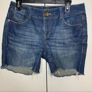 DKNY Ludlow Cut-Off Jean Shorts
